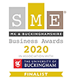 SME MK & Buckinghamshire Business Awards - Finalist 2020